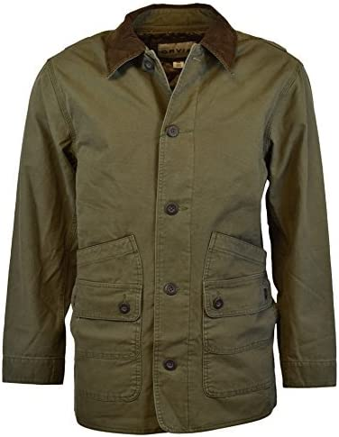 Orvis Men's Corduroy Collar Cotton Barn Jacket