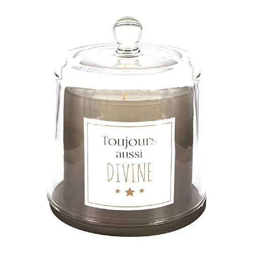 Candle Factory CMP, Kerze unter Glocke 200g immer auch Divine Duft Vanille