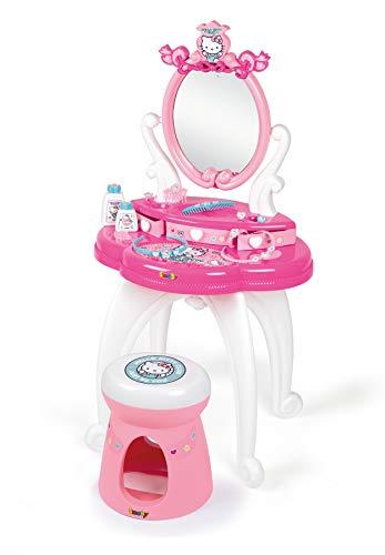 Hello Kitty Tocador con Taburete, 10 Accesorios, Color (Smob