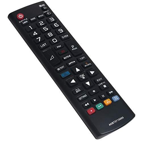 ALLIMITY AKB73715669 Mando a Distancia Reemplazar Apto para LG TV 47LB731V 49LF540V 49LH604V 60LB650V 60LB870V 65UB950V...