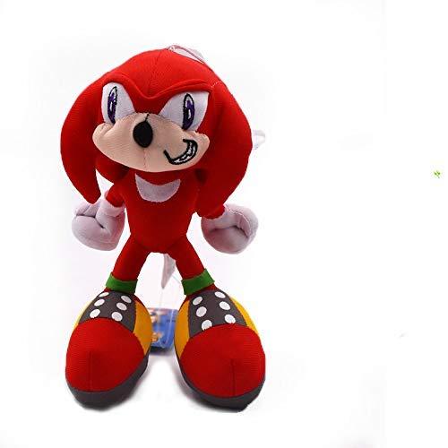 MEELLION Juguetes de Peluche Sonic The Hedgehog Regalos Rojo Felpa muñeca de Dibujos Animados Juguetes de Peluche Juguetes de Peluche Muñecas Figura Amor de una Vida