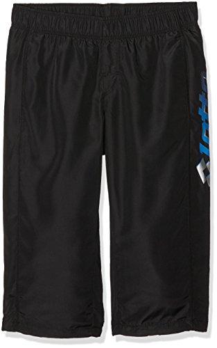 Lotto Mid Will DB Pantalon 3/4 de Sport pour Homme L Multicolore - Noir/Turquoise