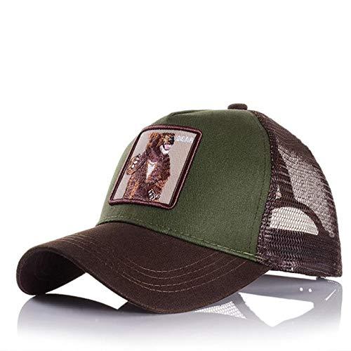 Gorras de bisbol para Hombre, Mujer, Ajustable, Universal, Exteriores, Sombra, pap, Conductor de camin, Sombreros de Malla-a62