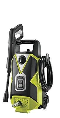 Ryobi RPW110B Pressure Washer, 1500 W, Hyper Green by Ryobi