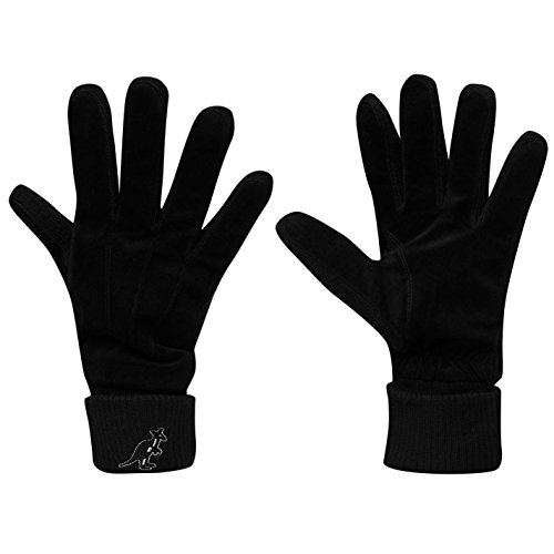 Kangol Unisex Sanger Handschuhe Schwarz L/XL
