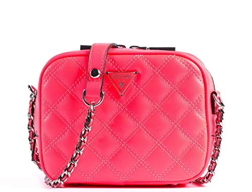 Guess Cessily Mini Camera Bag Neon
