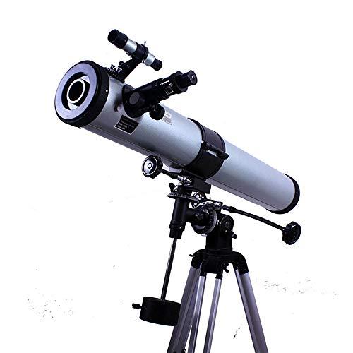 YAMEIJIA Large Abertura astronómico telescopio HD Alta ampliación de visión del telescopio astronómico, con Montura ecuatorial telescopio Tubo Individual