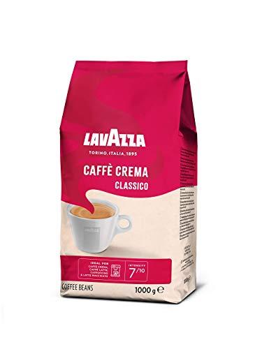 Lavazza Kaffeebohnen - Caffè Crema Classico - 1er Pack (1 x 1 kg)