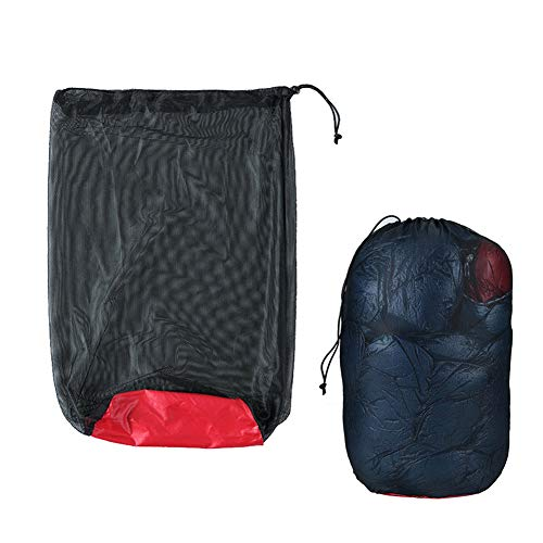 Nylon-Aufbewahrungstaschen, multifunktional, für Camping, Angeln, Netz, Kompressionsschlafsack, Aufbewahrung, Sack Organizer für Kleidung, Bettdecken, Kissen, Vorhänge, Reisen