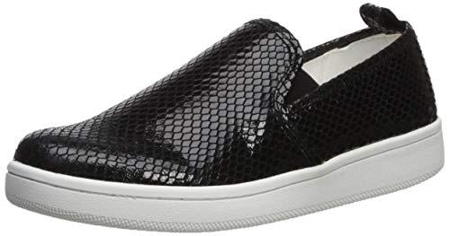 Calvin Klein Women's DEVA Sneaker, Black, 10 M US