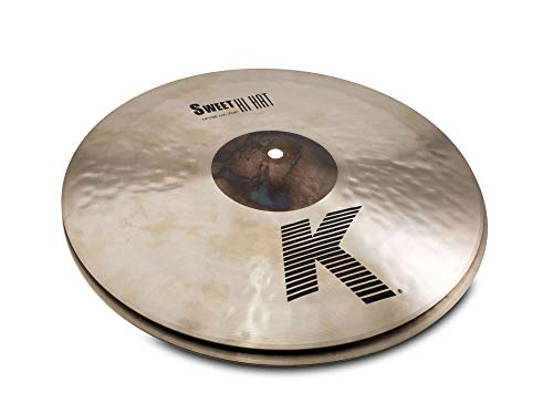 """Zildjian 14"""" K Zildjian Sweet HiHat Cymbal Pair (K0720)"""