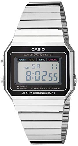 Casio Men's Classic Quartz Stainless-Steel Strap,...