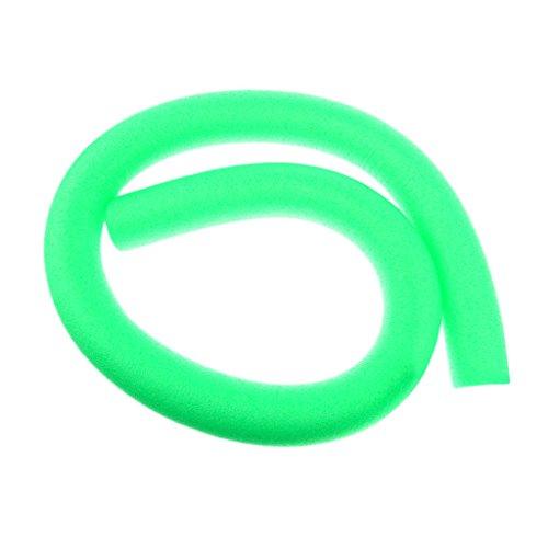 Toygogo Schwimmnudel Kinder Erwachsene Poolnudel Wassernudel Connectoren für Schwimmtraining - Grün, 6 x 150 cm