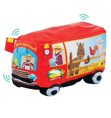 Etna Plush Singing Old Macdonald Had A Farm Toy – This Sing Along Farm Truck Plays Old Macdonald – Dances and Lights Up to The Music – Fun Toys for Toddlers, 6 Months +
