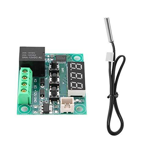 Keenso XH-W1209 Thermostate Temperatur Regler Modulplatine Temperaturregler Digitale Temperatursteuerung Schalter Sensor Modulplatine mit hoher Genauigkeit -50 bis 110 Gard