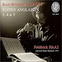 English Suite 3 4 & 5 by Bach