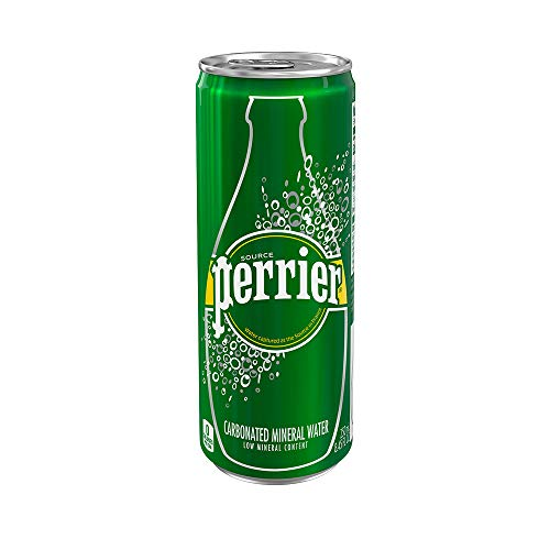 Perrier Carbonated Mineral Water Cans 30-Pack Now $11.21