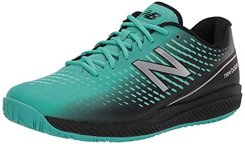 New Balance Women's 796 V2 Hard Court Tennis Shoe, Summer Jade/Black/Silver, 8 Wide