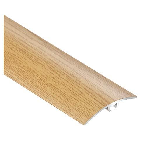 CEZAR W de al de LW40de DS de tira protectora 090/übergangsschiene/Perfil de transición con laminado/madera tacos 40mm, puede roble