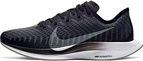 Nike Wmns Zoom Pegasus Turbo 2, Zapatillas de Trail Running Mujer, Multicolor (Black/White-Gunsmoke-Atmosphere Grey 1), 44/45 EU