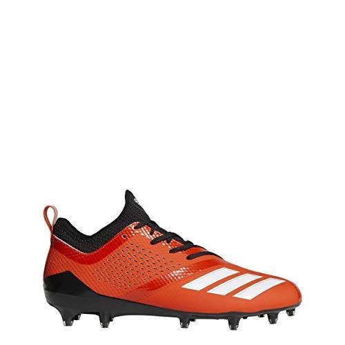 adidas Adizero 5-Star 7.0 Cleat - Mens Football 15 Collegiate Orange/White/Black