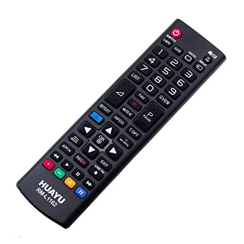 Mando a distancia de repuesto para LG 32LH604V / 40UH630V Smart TV Remote Control Conrol – control remoto, télécommande, Kumanda, Plug & Play