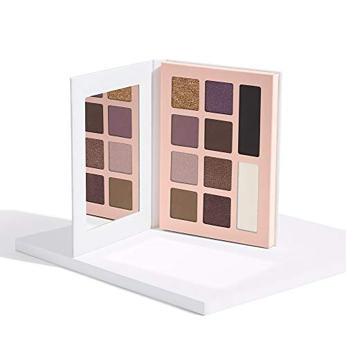 Honest Beauty Eyeshadow Palette with 10 Pigment-Rich Shades | Paraben Free, Talc Free, Dermatologist Tested & Cruelty Free | 0.67 oz.