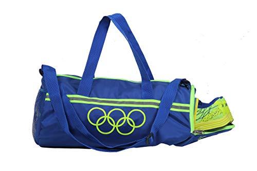 "POLESTAR ""Premium "" 26 Ltrs Blue Duffel Gym Bag Backpack"