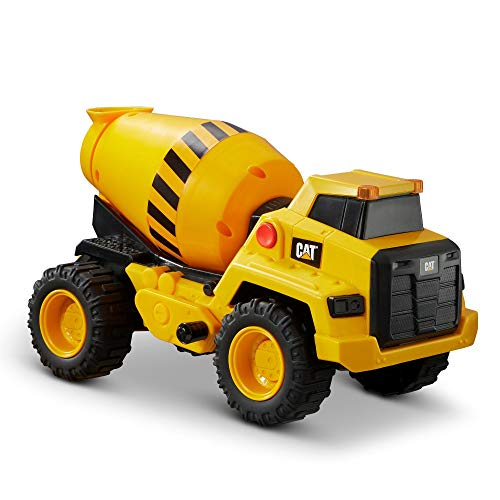 Cat Construction Power Haulers Cement Mixer, Yellow