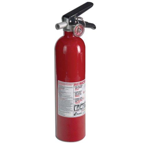 Kidde 21005776 Pro 110 Consumer Fire Extinguisher, Multi Purpose, UL A, 10-B:C, Red