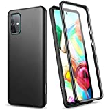 SURITCH for Samsung A71 Case with Built-in Screen Protector