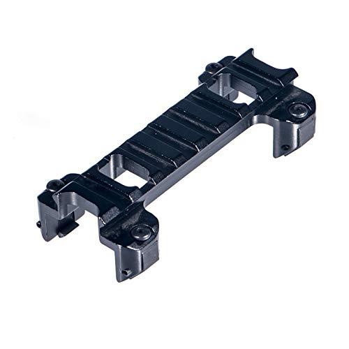FOCUHUNTER Aluminium Taktisch 20mm Weaver/Picatinny Leuchtpunktvisier Schienen Zielfernrohrmontagen Schienen für MP5 G3 Erweiterung (9)