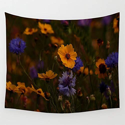 Coreopsis Nature - Colgantes para porche (152 x 127 cm), diseño de flores