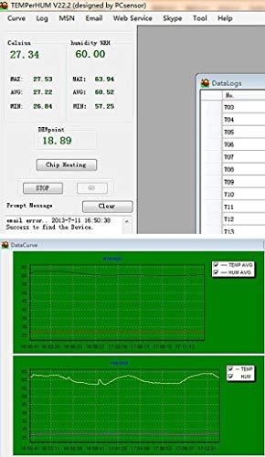 BW USB Gadget PC Sensore Igrometro Termometro