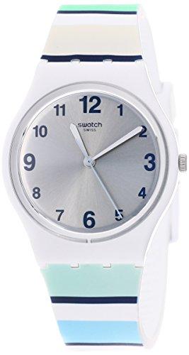 Swatch Reloj Analógico para Unisex Adultos de Cuarzo con Correa en Silicona GW189
