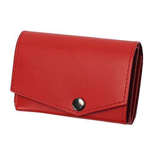 小さい財布 abrAsus アブラサス 最上級ブッテーロレザーエディション レッド