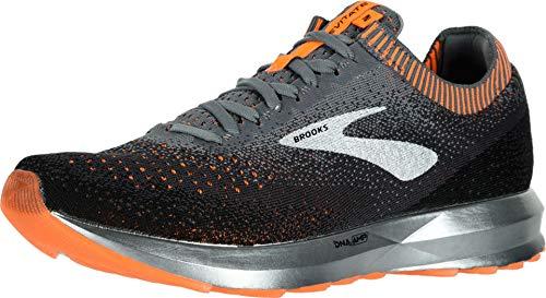 Brooks Levitate 2, Zapatillas de Running para Hombre, (Grey/Black/Orange 026), 45.5 EU