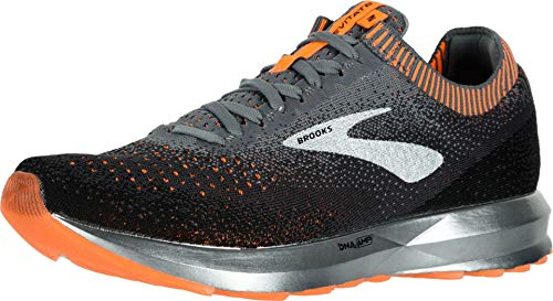 Brooks Levitate 2, Scarpe da Running Uomo, Multicolore (Grey/Black/Orange 026), 45.5 EU
