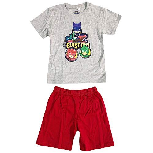 eOne PJ Masks Héroes en pijamas - Conjunto Pijama - para niño - 2002025 [Gris - 6 años - 116 cm]