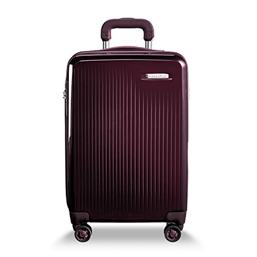 Briggs & Riley Sympatico-Hardside CX Expandable Carry-on Spinner Luggage, Plum, 22-Inch