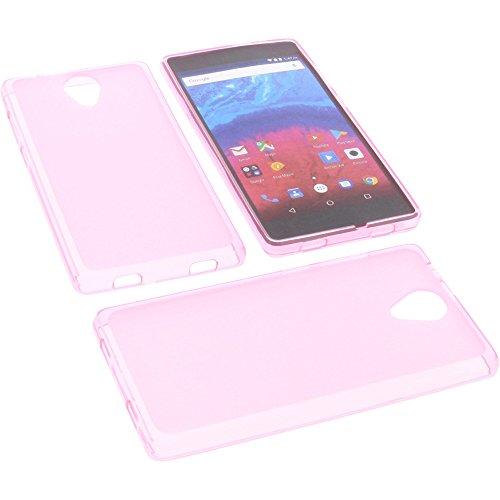 foto-kontor Tasche für Archos Core 50 Gummi TPU Schutz Handytasche pink