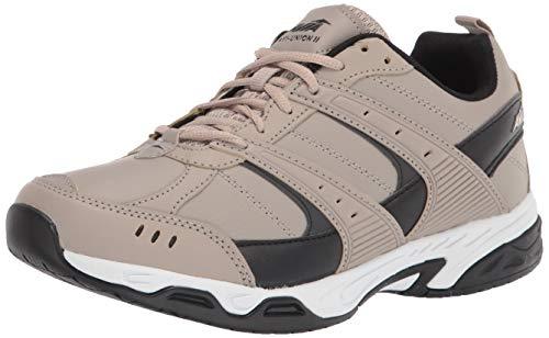 Avia mens Avi-union Ii Sneaker, Cobblestone/Black, 9.5 US