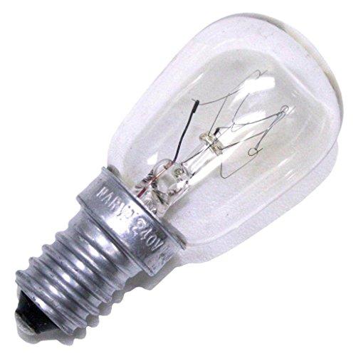 Volmer reservelamp E14 15 Watt 230 Volt bijv. voor Volmer Heitronic 35105 35106 35108