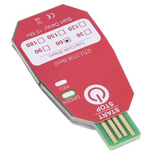 Registrador de temperatura DTU-1706 IP67 impermeable 60 días registrador de datos USB termómetro de alimentos frescos industria química para biomedicina