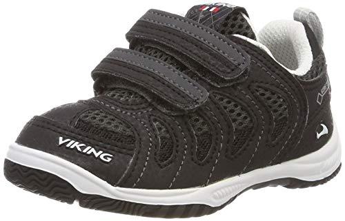 viking Cascade II GTX, Chaussures de Cross Garçon Mixte Enfant, Noir (Black/Grey 203), 33 EU