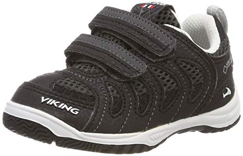 Viking CASCADE II GTX, Unisex-Kinder Cross-Trainer, Schwarz (Black/Grey 203), 31 EU (12.5 UK)