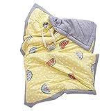 DaMohony Manta de bebé para bebé, suave de doble cara, manta para cuna, colchas para dormir para niños, niñas y bebés