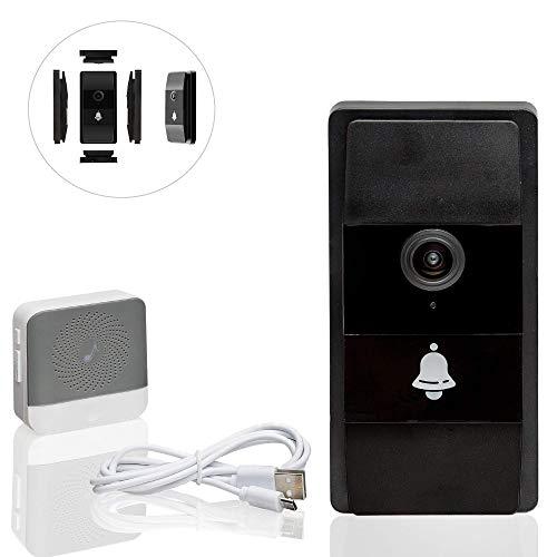 Safe2Home Deurbel, draadloos met camera en intercom, wifi, nachtzicht, toegang van de videobel via smartphone-app