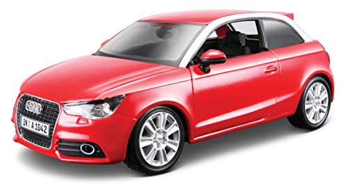 Bburago - 21058bk - Véhicule Miniature - Modèle À L'échelle - Bburago - Audi A1 - 1/24- Coloris aléatoire