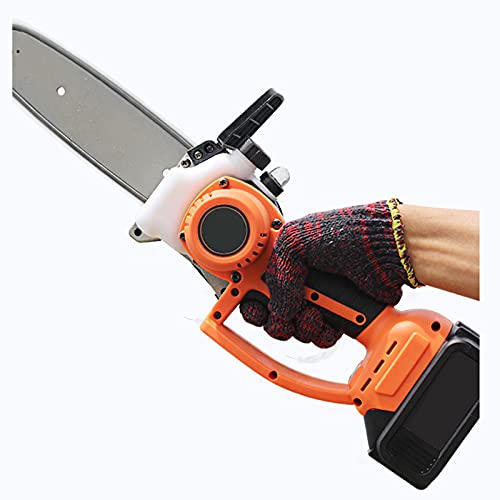 NMSLA Sierra de poda eléctrica eléctrica eléctrica de corte para árboles y jardines de mano ligera con una sola mano, XXL